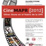 Cine MAPR - Oliver Stone en el Teatro de la UPR - 30 de noviembre de 2012