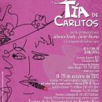 La Tía de Carlitos - 18 al 28 de octubre