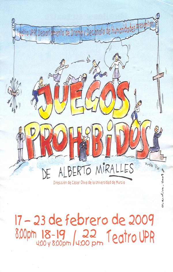 Juegos Prohibidos - 17 al 23 de febrero