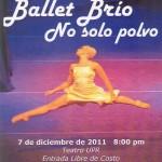 Ballet Brío, No solo polvo - 7 de diciembre