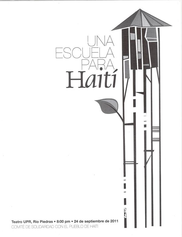 Una escuela para Haití - 24 de septiembre